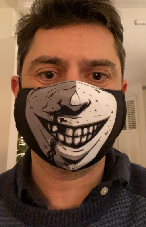 Twisted Dark Face Mask